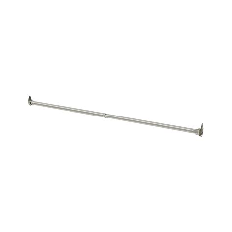 Closetmaid Hanging Rod Closetmaid Easentials 30 48 In Chrome Adjustable Hang Rod