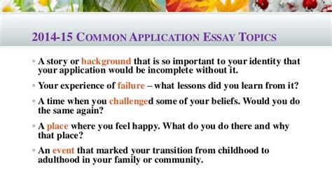 Interesting Topics For Essay Writing by 100 Interesting College Essay Topics