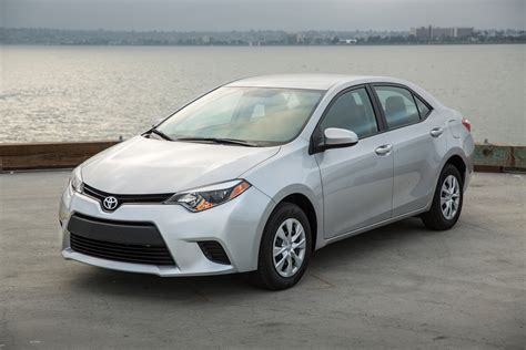 Price Of Toyota Corolla 2015 2015 Toyota Corolla Review Ratings Specs Prices And