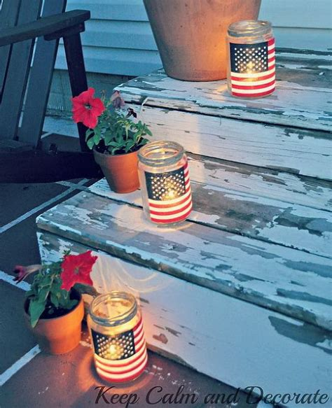 Diy Memorial Day Decorations by Diy Patriotic Crafts And Decorations For 4th Of July Or