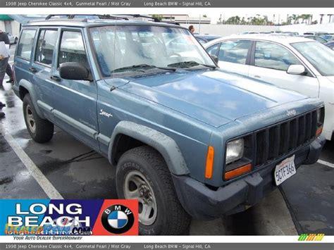 gunmetal jeep cherokee 1998 jeep cherokee classic 4x4 gunmetal pearl mist gray