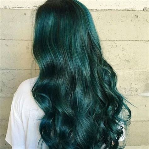 Emerald Fresh Green 30 fresh green hair ideas mint lime emerald pastel