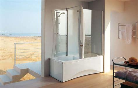 doccia nella vasca da bagno vasca e doccia unica soluzione vasche da bagno come
