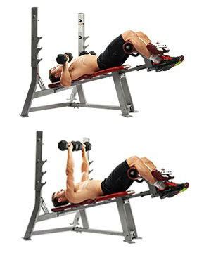 decline dumbbell bench press decline bench press benefits how to perform