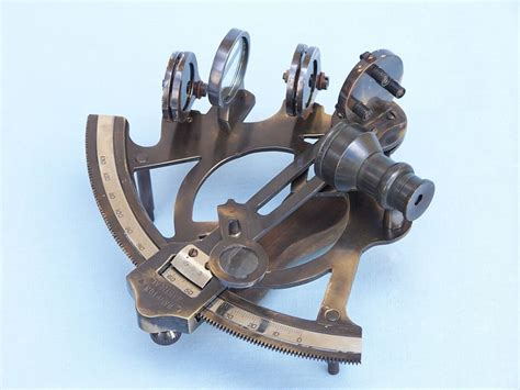 sextant usa buy antique brass sextant 7 inch with rosewood box