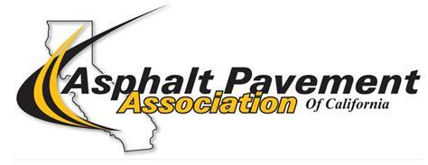 Paving Logo Asphalt Pavement Association Of California Launches