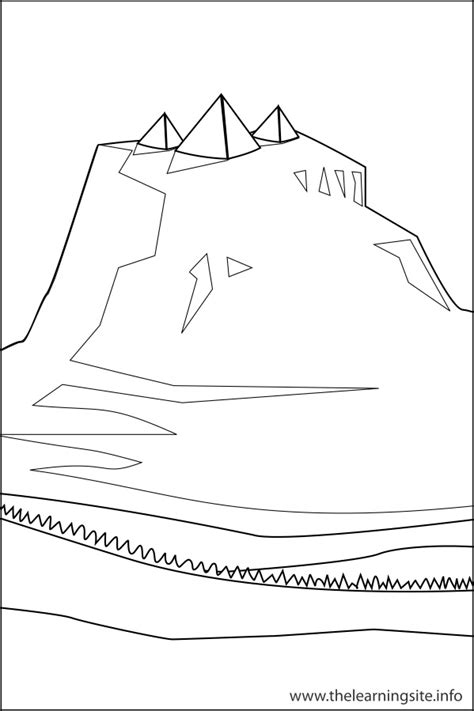 free land forms coloring pages
