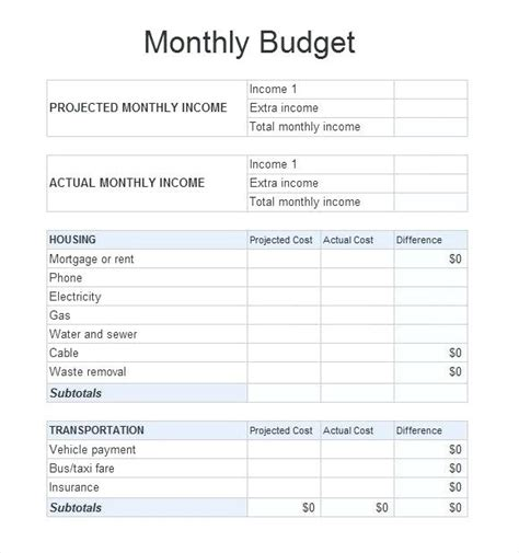 Monthly Bill Spreadsheet Template Free by Bill Sheet Sle Budget Sheet Monthly Budget Spreadsheet