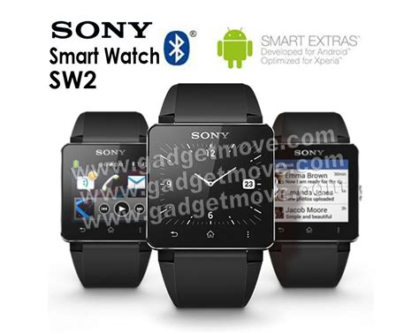Sony Smartwatch 2 Sw2 Original original sony sw2 smart 2 ii rubber metal
