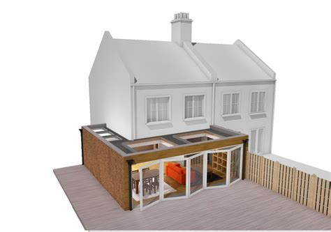 how to design a house extension apt renovation property design build house extension balham sw12 london