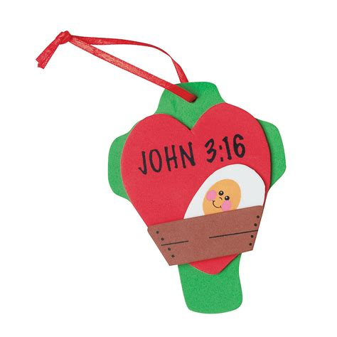 john 3 16 christmas ornament craft kit oriental trading