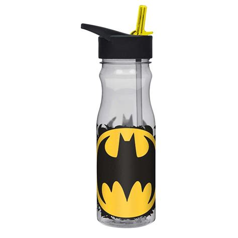 Drink Bottle Batman batman large water bottle with straw