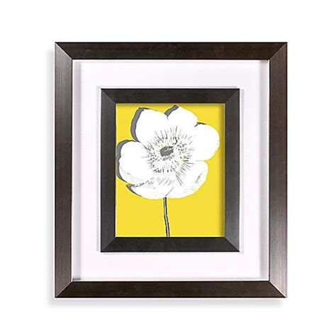 bed bath and beyond wall art buy yellow blossom ii wall art from bed bath beyond