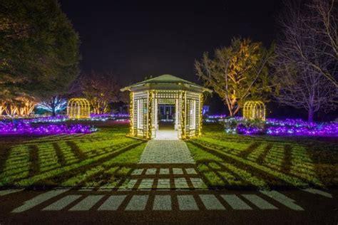 Ginter Park Botanical Gardens The Magical Lights Road Trip Through Virginia