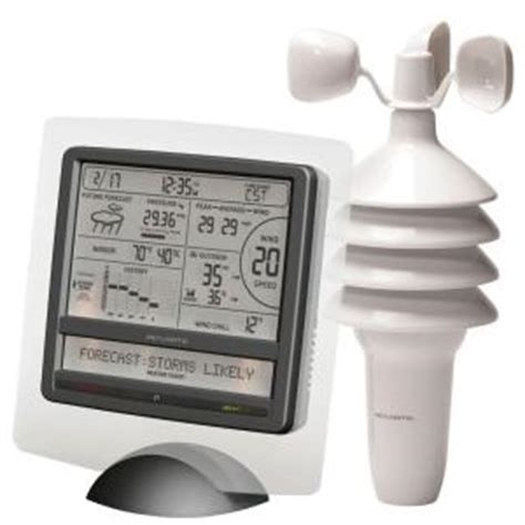 acurite digital weather station with scrolling ticker