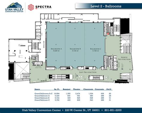 ta convention center floor plan view our floor plans utah valley convention center