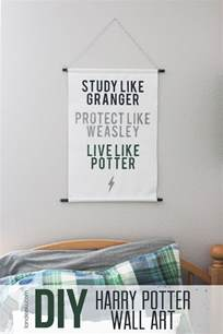 Harry Potter Wall Decor by Diy Harry Potter Wall Landeelu