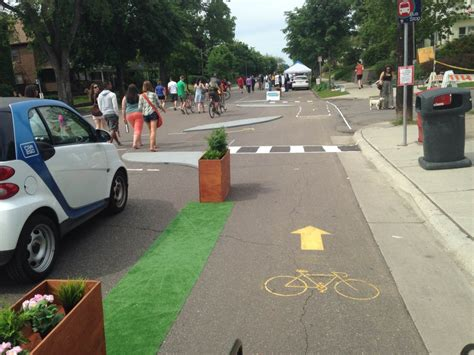 sam rockwell minneapolis how one day plazas and bike lanes can change a city