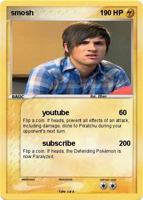 utube card pok 233 mon smosh 217 217 my card