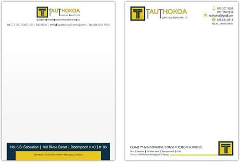 Business Letterhead Generator Company Letterhead Template Business Letterhead Format
