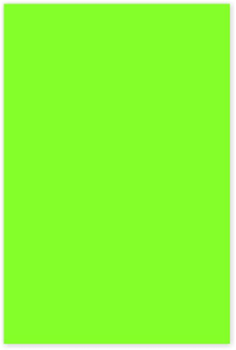 safety green color 4 in x 6 in color coded label sku lrect 406 fg
