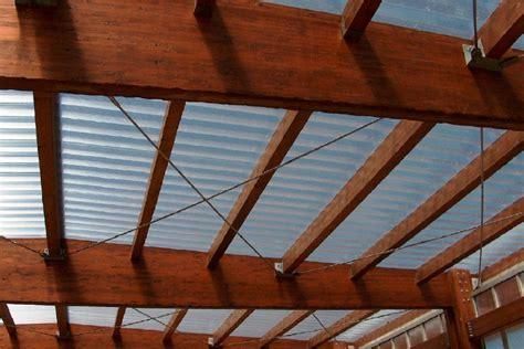 tettoia in policarbonato alveolare tettoia in legno con copertura in policarbonato carate