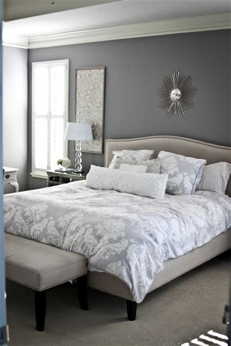 calming bedroom gray and white bedroom calming this blogger has a keen