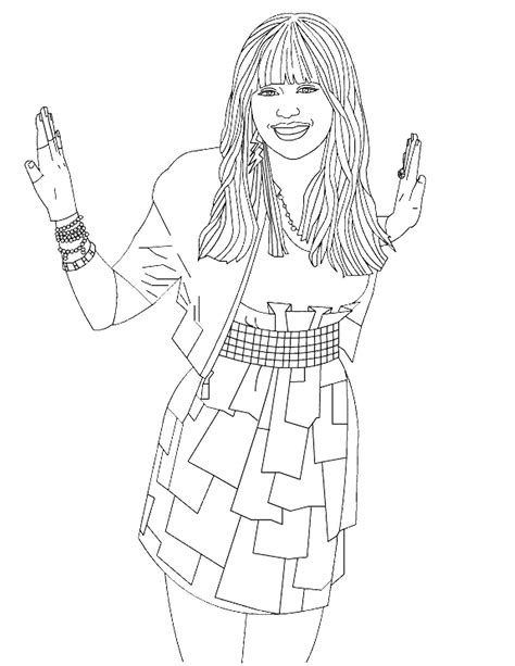 printable hannah montana coloring pages coloring me
