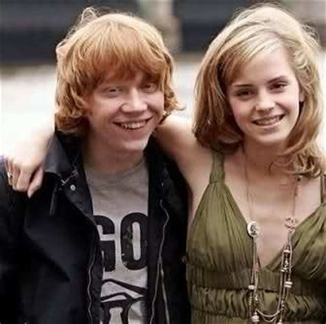 emma watson and rupert grint engaged what if rupert grint and emma watson decided to get