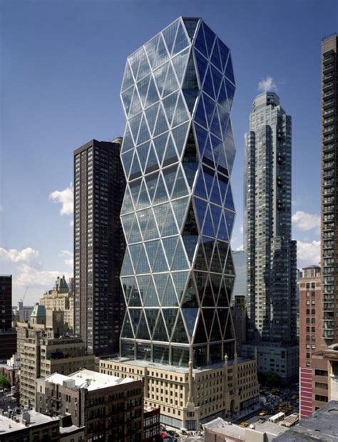 famous new york architects the hearst tower in new york city