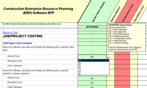 erp evaluation template 100 gap analysis templates restaurant point of sale fit