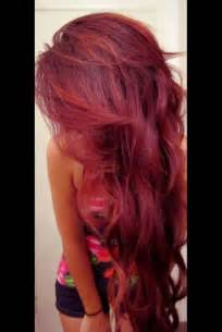wine color hair wine colored hair for hairstyle
