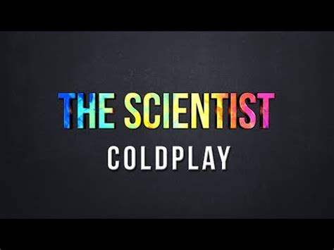 testo the scientist coldplay testo the scientist coldplay testi canzone testi