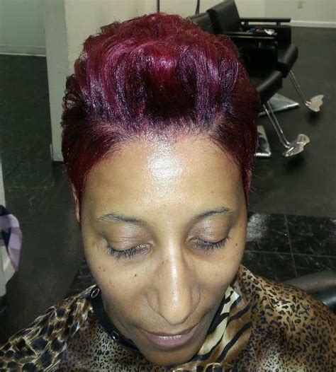 different styles of wrappin mohawk a hair designs by ebony