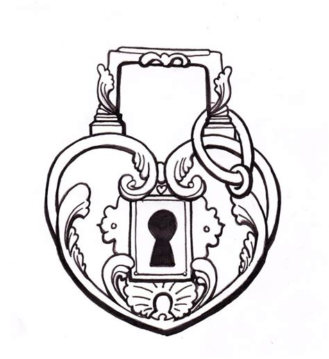 padlock tattoo designs real drawing clipart panda free clipart images
