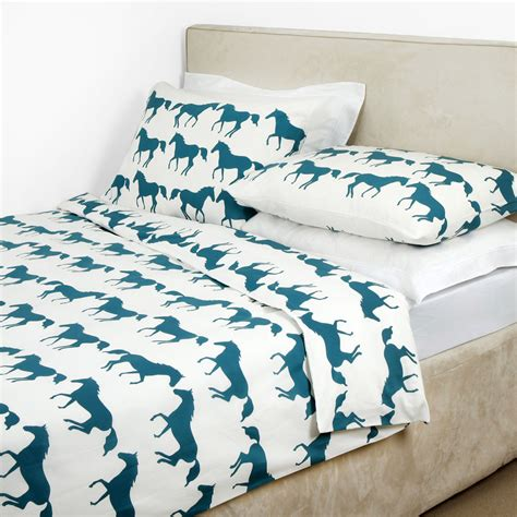 anorak kissing horses bedding shop bedding uk