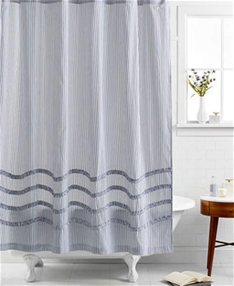 Martha Stewart Shower Curtains Closeout Martha Stewart Collection Ruffle Shower Curtain Shower Curtains Accessories Bed
