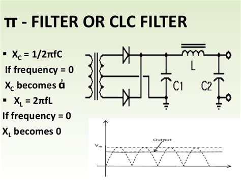 capacitor filter circuit capacitor filter is not suited for heavy loads why 28 images meher product services low