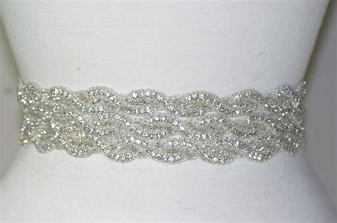 wedding dress sparkly belt overlay wedding dresses