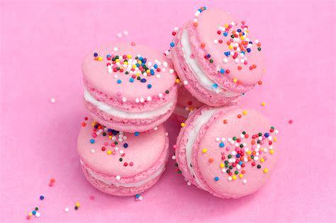 birthday cake macarons brookies cookies