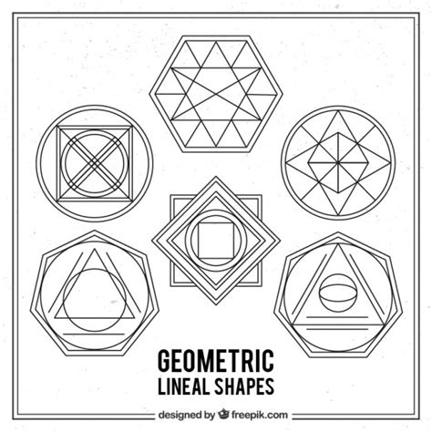 imagenes de vectores lineales pack de formas lineales geom 233 tricas descargar vectores