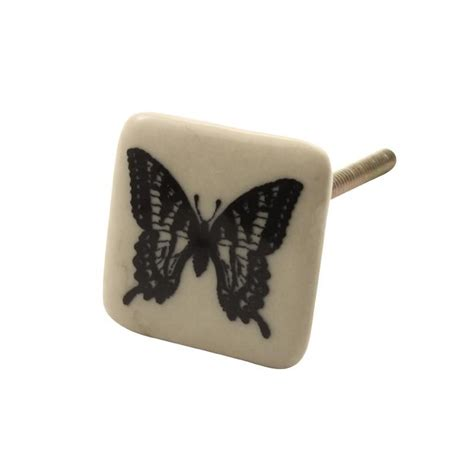 Butterfly Door Knobs by Door Knob Big 176 Angular With Butterfly 5 27 C