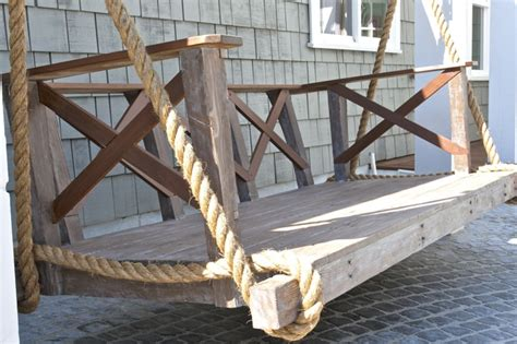 swinging day bed shabby chic day bed porch swing day bed swings and