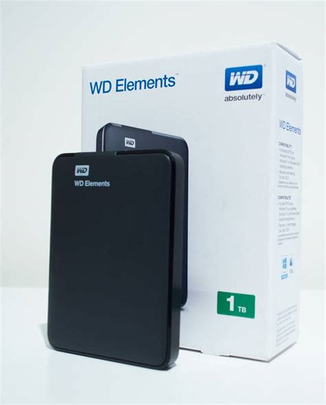 Harddisk Wd Element 1tb wd elements 1tb usb3 0 wdbuzg0010bbk external disk drive