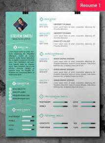 designer resume templates free free cv resume psd templates freebies graphic design