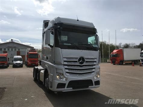 used mercedes actros 2546 tractor units year 2017