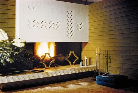 mid century modern fireplace interiors fireplace