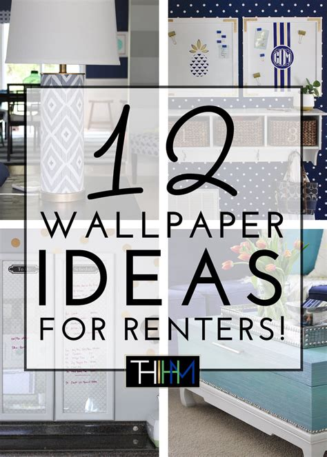Wallpaper For Renters | 12 wallpaper ideas for renters the homes i have made