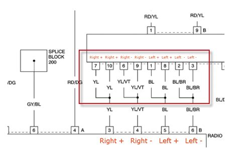 wiring diagram of factory radio on crossfire