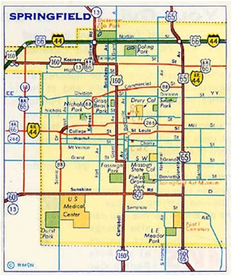 Records Springfield Mo Springfield Missouri Map My